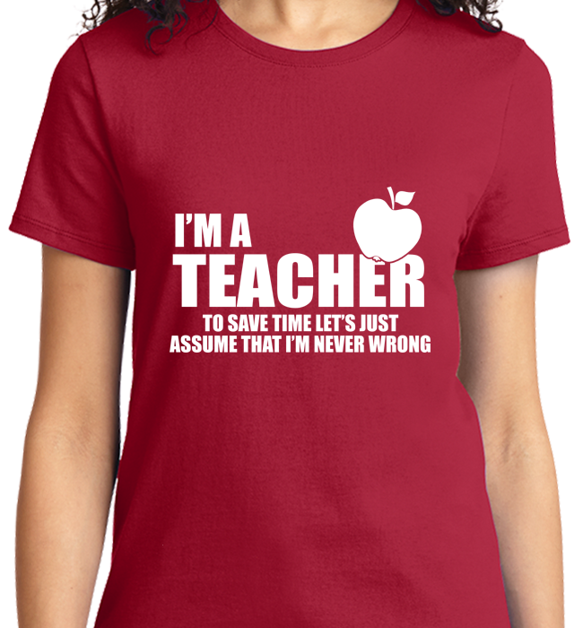 I'm A Teacher - Zapbest2  - 9
