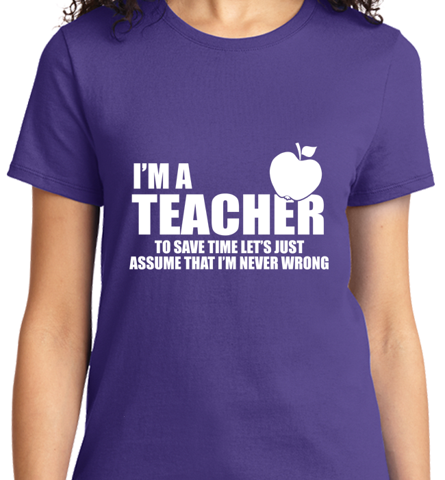I'm A Teacher - Zapbest2  - 10