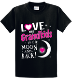 Love Grand kids - Moon & Back - Zapbest2  - 1