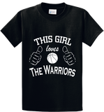 Girl Loves The Warriors - Zapbest2  - 1