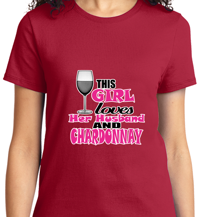 Girl Loves Husband & Chardonnay - Zapbest2  - 10