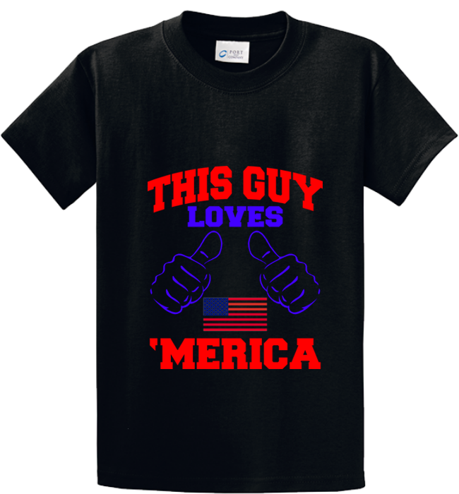 Guy Loves 'Merica - Zapbest2  - 1