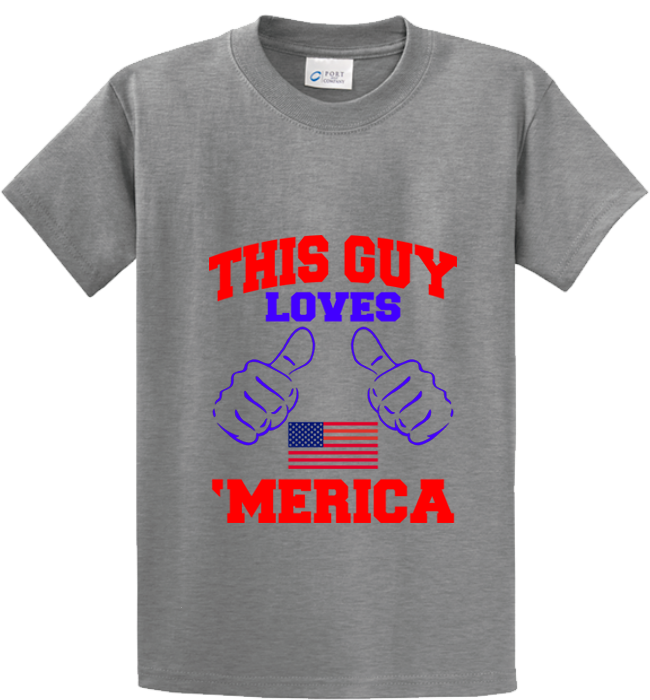 Guy Loves 'Merica - Zapbest2  - 4