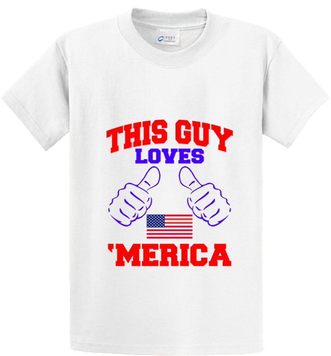 Guy Loves 'Merica - Zapbest2  - 5