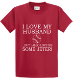 I Love My Husband & Jeter - Zapbest2  - 2