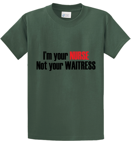 I'm Nurse & Not Waitress - Zapbest2  - 2