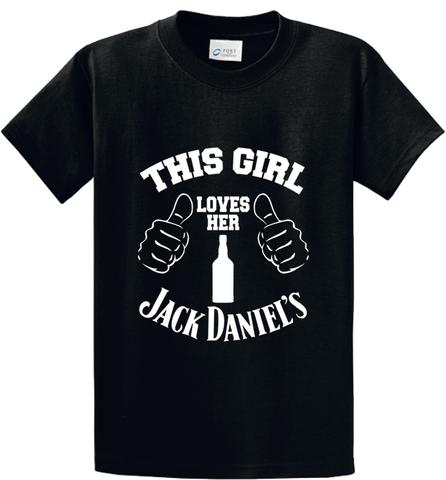 This Girl Loves Her Jack Daniels - Zapbest2  - 1