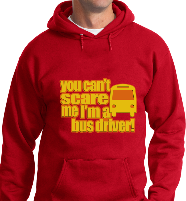 Can't Scare Me, I'm Bus Driver - Zapbest2  - 7