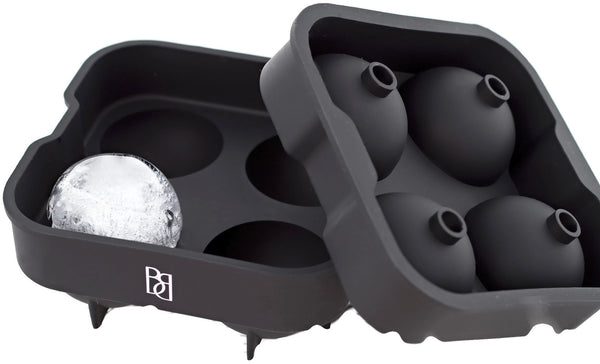Premium Ice Ball Maker Mold by Bar Brat | The Perfect Bar Accessory Gift