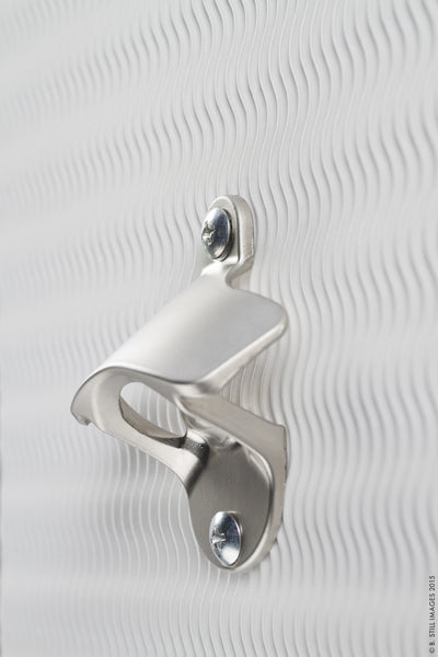 Wall Mounted Bottle Opener (Stainless Steel): Open Bottle Caps With One Hand | Versatile In Use