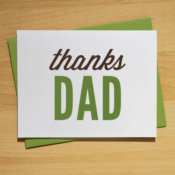 Thanks Dad: For Everything