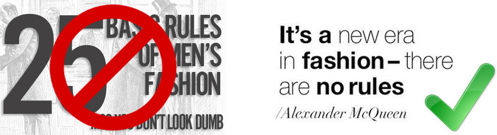 "Why The ""Fashion Rules"" Are A Joke!"