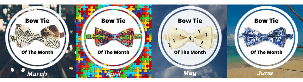 Learn How You Can Win A Free Bow Tie Each Month