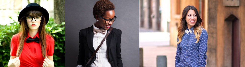 Women in Bow Ties Are Great, Here's Why!