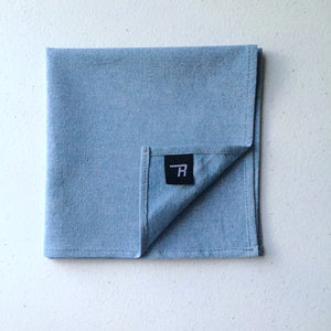 Light Denim Pocket Square