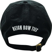 "Black ""Be Your Own Brand"" Snap Back Hat - Reign Bow Ties - 3"