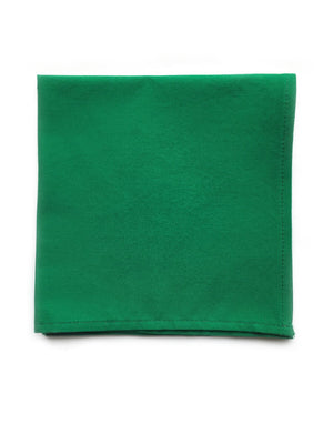 Emerald Green Pocket Square - Reign Bow Ties