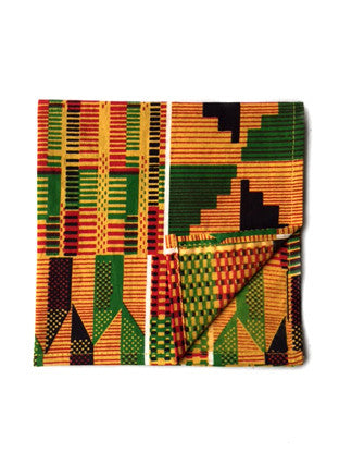 Kente Print Pocket Square