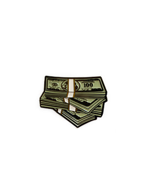 Money Stacks Pin