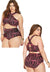 Brooke High Waist Retro Sexy Summer Women's Bikini Set