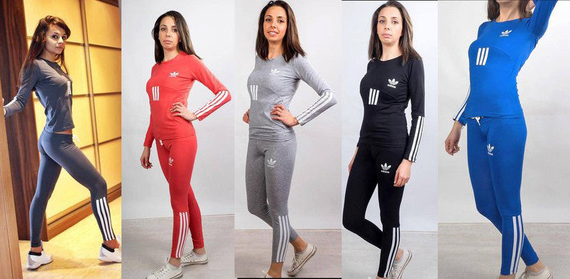 Light  sports wear Women's  Crewneck Sweatshirtand and Pants in 4 colors