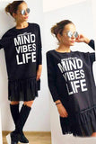 Mini Dress Tunic Oversize Mind Vibes Life