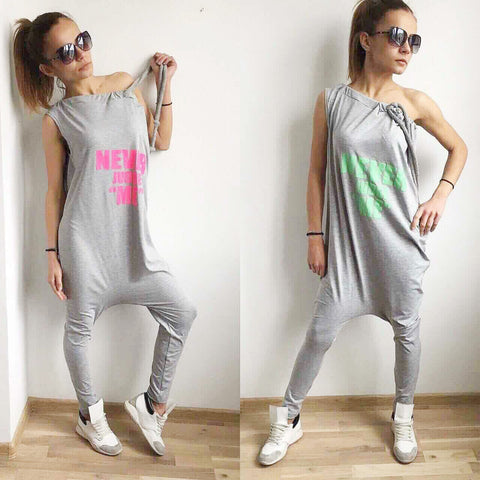 Free Style Jumpsuit One Arm