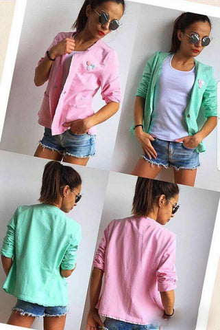 Adorable Little Blazer/Jacket in Bonbon Colors