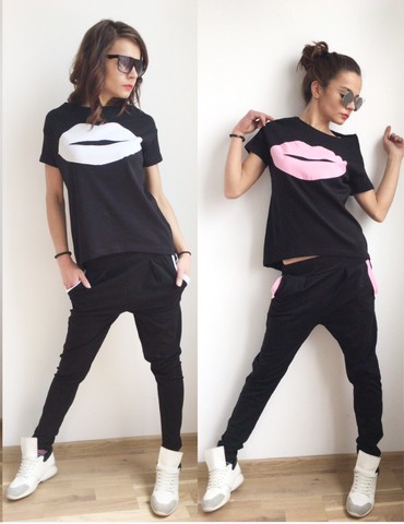 Summer Kiss, TrackSuit Set Sport  Sweatshirt Jogging