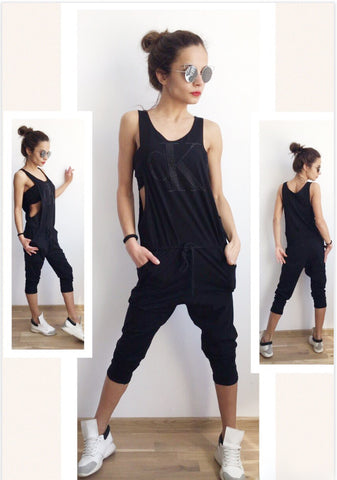 Women's Black Chic  Romper