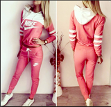 Tracksuit sports wear orange