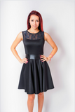 Retro Darling Dress in Black
