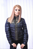 Puffer Coat in Black or Pale Pink