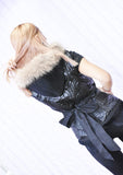 Urban  Gilet Patchwork Hooded Vest