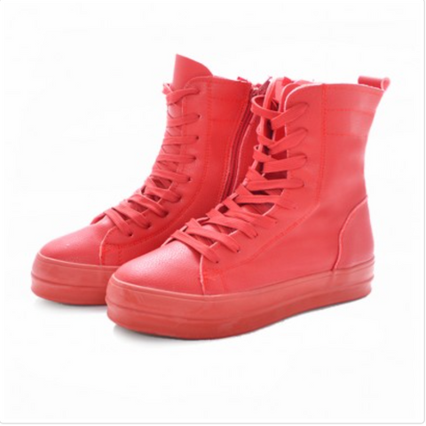 Red Platform Classic 3/4  Boot