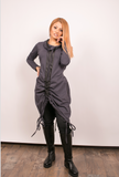 Hight-Low Sport Oversized Tunic Long Top or dress