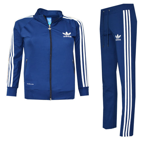 Activewear Casual Tracksuit blue