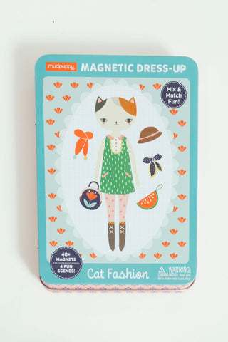 Cat Fashion Magnetic Dress Up