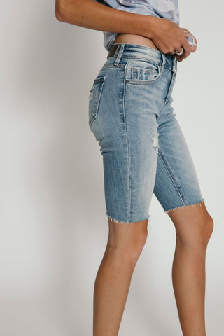 Denim Cycle Shorts Lt. Denim