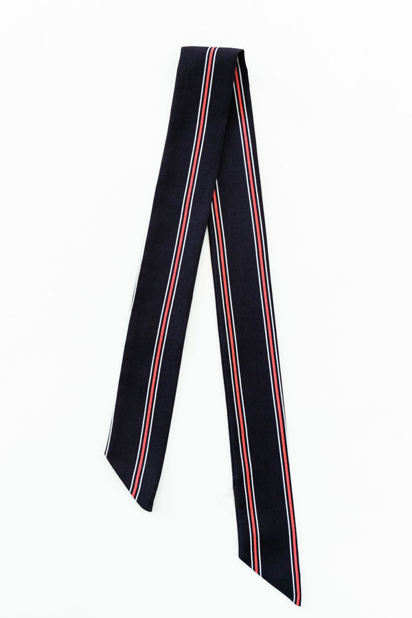Bandana Double Stripe Navy & Red