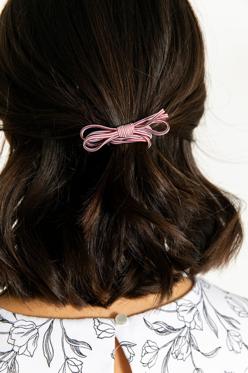 Hair Elastic Burgundy