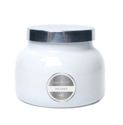 Volcano White Signature Jar