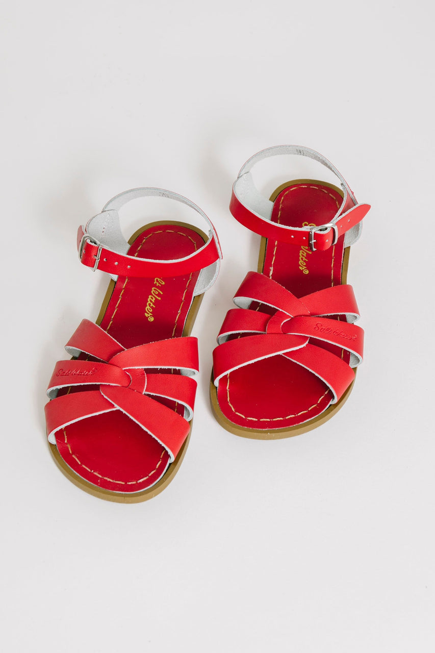 Salt Water Sandal Red