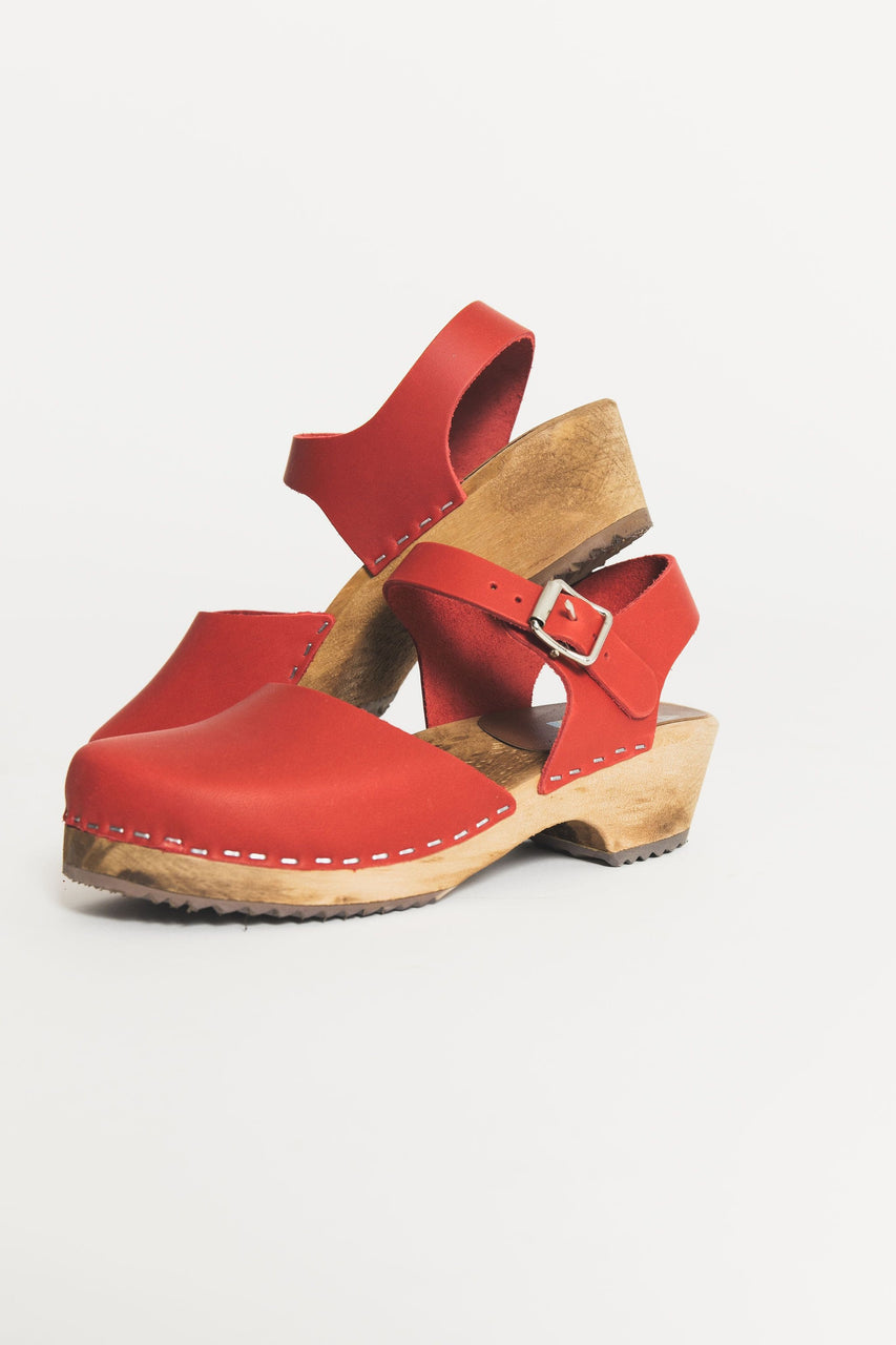 Mia Sofia Clog Red