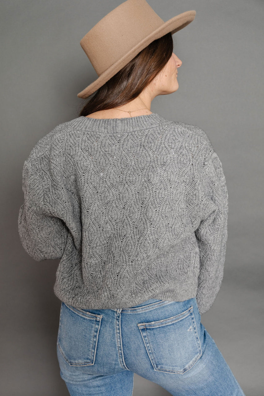 Albert Cardigan in Grey