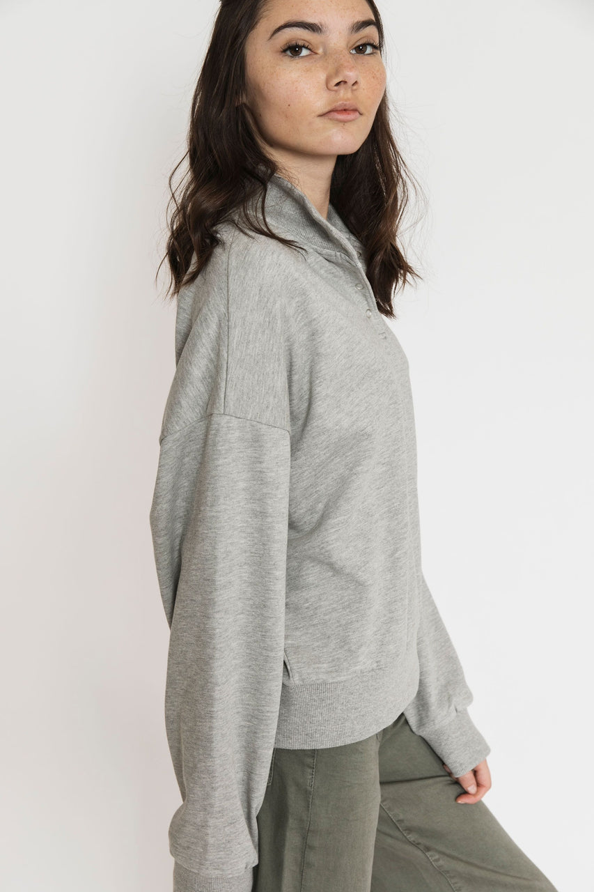 Alta Sweatshirt in Heather Grey