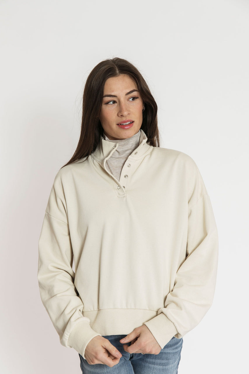 Alta Sweatshirt in Sand