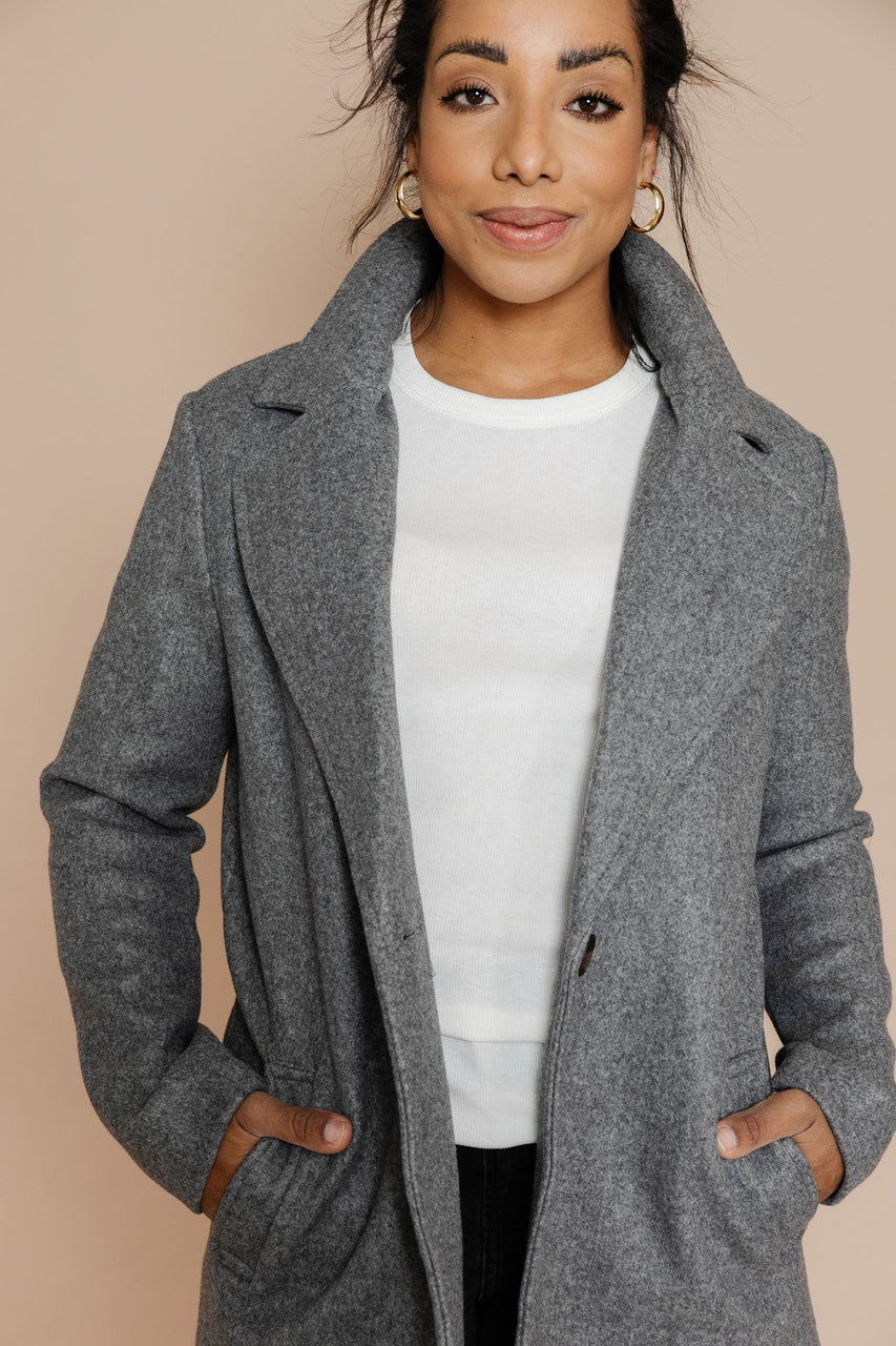 Audrey Coat in Grey