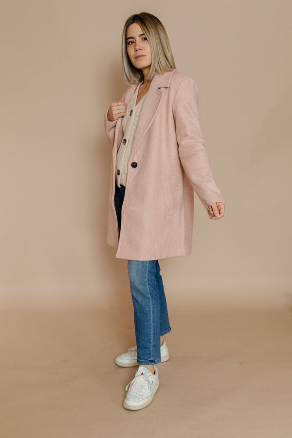Audrey Coat in Mauve