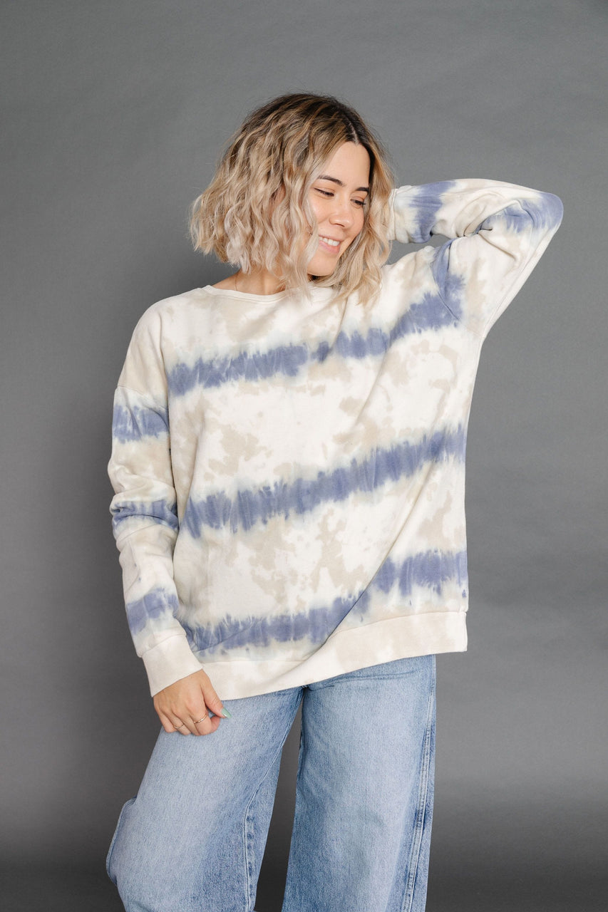 Becca Sweatshirt in Faded Navy